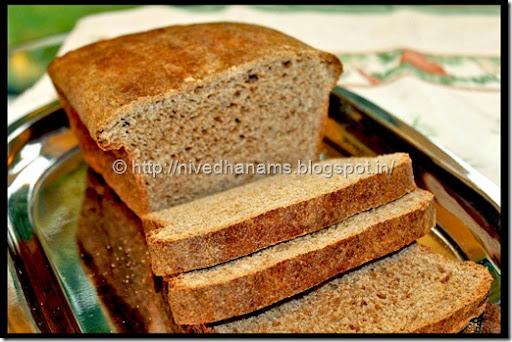 Whole Wheat Honey Buttermilk Bread - IMG_3594